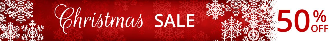 Web banner for Christmas royalty free illustration