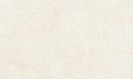 Horizontal white canvas material to use as background or texture Royalty Free Stock Photography
