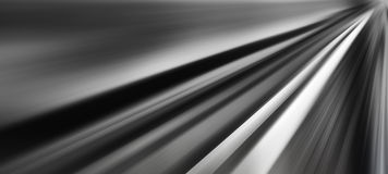 Horizontal wide vibrant black and white road to success backdrop Stock Images