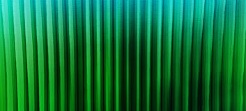 Horizontal wide vibrant green vertical lines 3d extrude cubes bu Stock Images