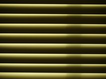 Horizontal window blinds, close up Royalty Free Stock Photos