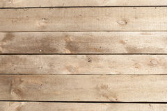 Horizontal wood planking wall background. Natural Texture. Stock Images
