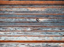 Horizontal wooden bench with twig texture background royalty free stock images