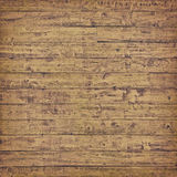 Horizontal wooden plank Royalty Free Stock Photo