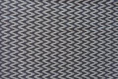 Horizontal zigzags pattern on fabric Royalty Free Stock Photos
