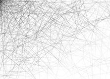Horizontale Überfahrt von schwarzen Linien auf weißem Hintergrund vektor abbildung