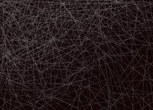 Horizontale Überfahrt von weißen Linien auf schwarzem Hintergrund vektor abbildung
