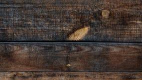 Horizontale abstracte donkere achtergrond met textuur van hout Stock Foto