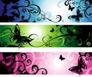 Horizontale banners Stock Afbeeldingen