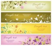 Horizontale banners Stock Afbeelding