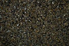 Horizontale Beschaffenheit der Sand-Beschaffenheit mit kleinem Stein Stockbilder