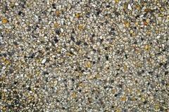 Horizontale Beschaffenheit der Sand-Beschaffenheit und des kleinen Steins Stockbild