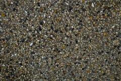 Horizontale Beschaffenheit der Sand-Beschaffenheit mit kleinem Stein Lizenzfreies Stockbild