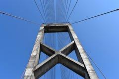 Horizontale Brücke Stockbild