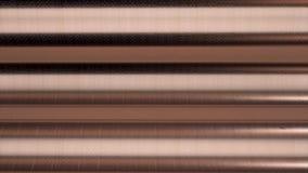 Horizontale braune Linien auf metallischem Hintergrund, nahtlose Schleife animation Breite Streifen der Zusammenfassungsähnlichke vektor abbildung
