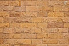 Horizontale bruine baksteen Royalty-vrije Stock Fotografie