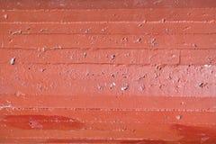 Horizontale concrete strepen van een cilindrische structuur voor achtergrond stock afbeeldingen