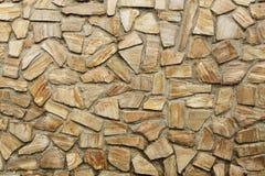 Horizontale de achtergrond van de steenmuur stock afbeelding