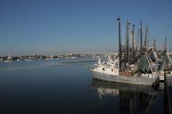 Horizontale de Vloot van Myers Shrimping van het fort stock afbeeldingen