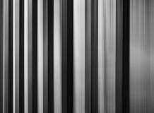 Horizontale dramaric heldere zwart-witte abstractie Stock Foto's