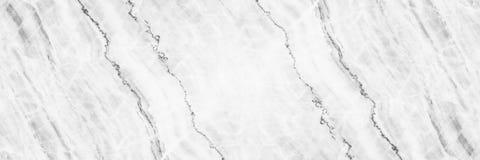 horizontale elegante witte marmeren textuur voor patroon en backgrou Stock Afbeeldingen
