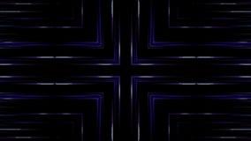 Horizontale en verticale blauwe lijnen stock illustratie