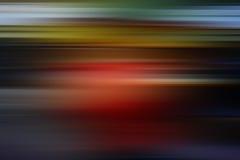 Horizontale Farblinien und Flecke Lizenzfreies Stockfoto