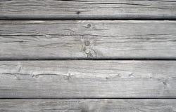 Horizontale geschilderde planken - achtergrond Stock Foto