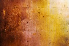 Horizontale goldene Wand, Beschaffenheit des schwarzen Goldes stockbilder