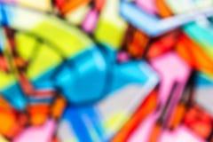 Horizontale graffitibanner Stock Fotografie