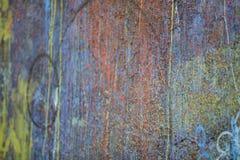 Horizontale graffitibanner Stock Foto