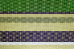 Horizontale groene gele achtergrond Stock Foto's