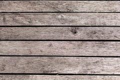 Horizontale houten planking muurachtergrond Natuurlijke Textuur Stock Afbeelding