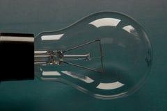 Horizontale Lightbulb, Royalty-vrije Stock Afbeelding