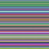 Horizontale Mehrfarbenstreifen, abstrakter Steigungshintergrund lizenzfreie abbildung