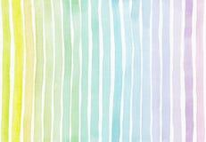 Horizontale naadloze achtergrond met handdrawn inkt met de hand getrokken textuur van de streepgradiënt, onvolmaakt, korrelig, he Stock Foto
