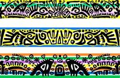 Horizontale nahtlose Muster stock abbildung