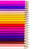 Horizontale potloodachtergrond Stock Fotografie