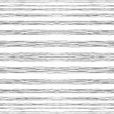 Horizontale schwarze gewellte Linien stockfotografie