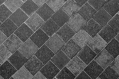 Horizontale Textuur van Gray Slate Footpath royalty-vrije stock foto