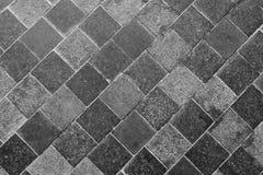Horizontale Textuur van Gray Slate Footpath stock fotografie