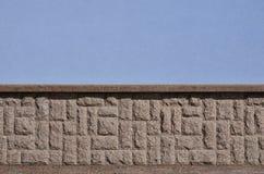 Horizontale textuur van ruwe en sterke de steenfou van het mozaïekgraniet Royalty-vrije Stock Afbeeldingen