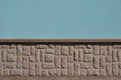 Horizontale textuur van ruwe en sterke de steenfou van het mozaïekgraniet Royalty-vrije Stock Foto