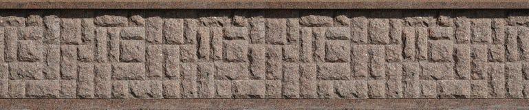 Horizontale textuur van ruwe en sterke de steenfou van het mozaïekgraniet Stock Foto's