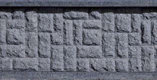 Horizontale textuur van ruwe en sterke de steenfou van het mozaïekgraniet Royalty-vrije Stock Afbeelding
