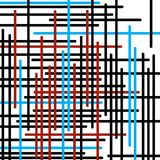 Horizontale und vertikale farbige Streifen stockfotografie