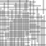 Horizontale und vertikale geometrische Formen lizenzfreie stockbilder
