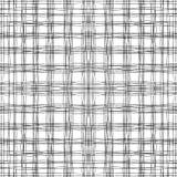 Horizontale und vertikale gewellte Linien lizenzfreies stockbild