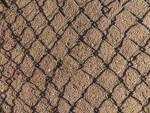 Horizontale van de de verbindingsrechthoek van de metaalketting textuur als achtergrond royalty-vrije stock foto's