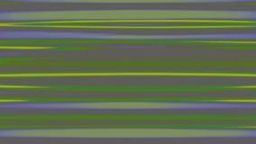 Horizontale Vervormde Abstracte Lijnen stock illustratie